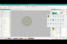3D Warp Stitch Effects in Hatch Embroidery Digitizer