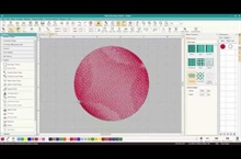 Adding a Contour Stitch with Hatch Embroidery Layout Editor
