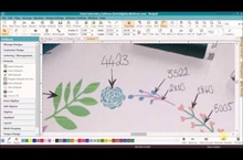 Circle of Flowers Digitizing Series – Part 1 – Assigning Colors