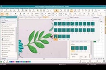Circle of Flowers Digitizing Series – Part 5 – Branching Leaves