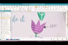 Circle of Flowers Digitizing Series – Part 6 – Tulip & Rose