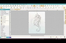 Digitizing the Seahorse – Part 1 – Inserting Your Artwork