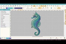 Digitizing the Seahorse – Part 5 – Stitch Player