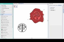 Hatch Embroidery 2 – Carving Stamps Demo