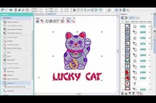 Hatch Embroidery 2 – Finishing design demo