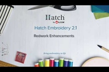 Hatch Embroidery 2.1 – Redwork Enhancements