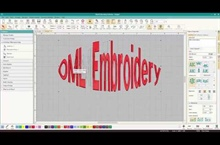Using Lettering Art in Hatch Embroidery Lettering